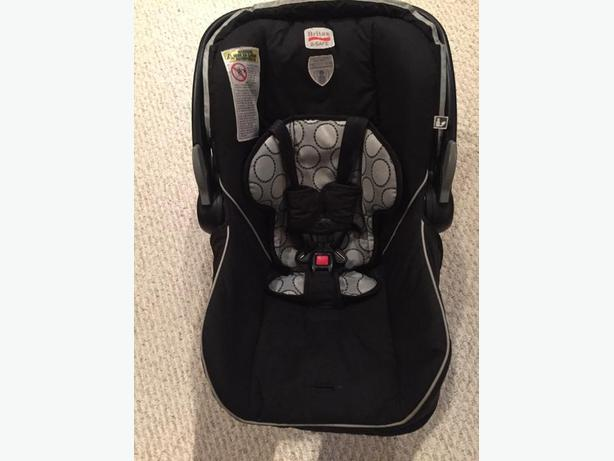 Britax B Safe Car Seat With Base Used For One Child 8 Months Expiry Sept 2019 Good Baby Up To 22 Pounds Manufacturers Date 2013 09 27
