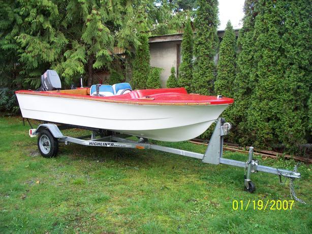 14' Rebuilt Boat
