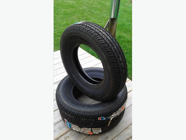3 new 195/75R14 Firestone M&S tires  $200 ono