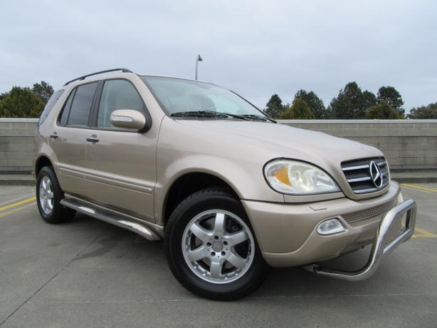 2002 mercedes benz ml500 4matic low kms sale outside for Mercedes benz ml500