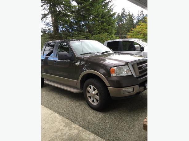 2005 ford f150 4x4 king ranch