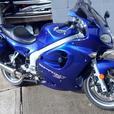 Triumph Sprint ST 955cc Triple (sappfire blue)
