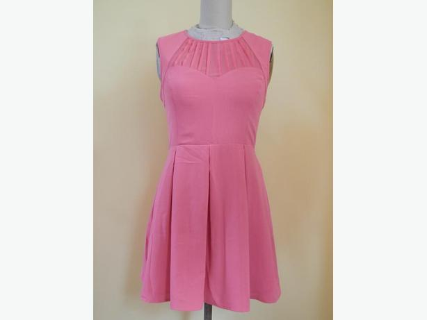 NEW Oasis Coral Skater Dress UK Size 12