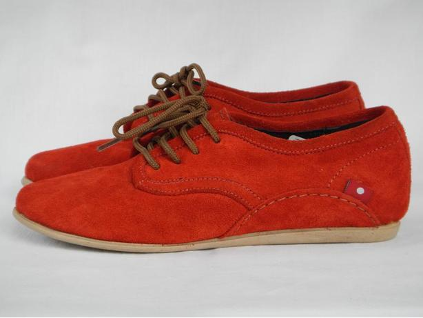 NEW Oliberte Red Suede Eloka Loafer - Fair Trade Footwear