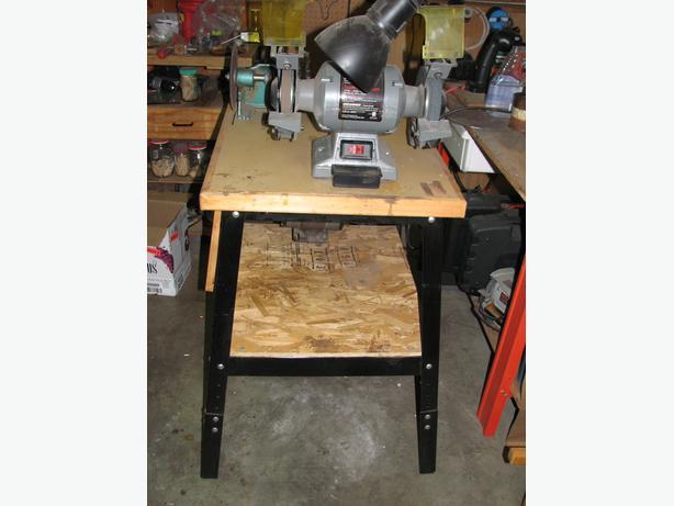Craftsman 6 Quot Bench Grinder Wire Wheel And Disk Sander
