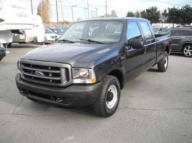2004 ford f 250 sd xl crew cab long bed 2wd outside comox valley courtenay comox. Black Bedroom Furniture Sets. Home Design Ideas