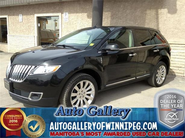 2015 Lincoln MKX AWD *Lthr/Roof/NAV*