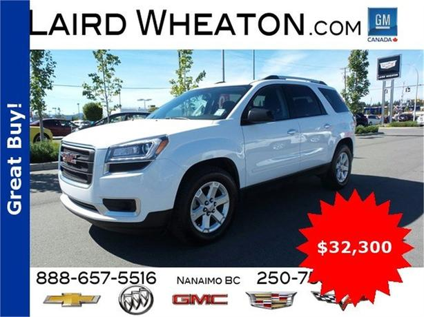 2016 GMC Acadia SLE AWD w/ Back-Up Camera and Bluetooth