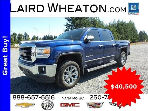 2014 GMC Sierra 1500 SLT AWD w/ Back-Up Camera, Front & Rear Park Assist