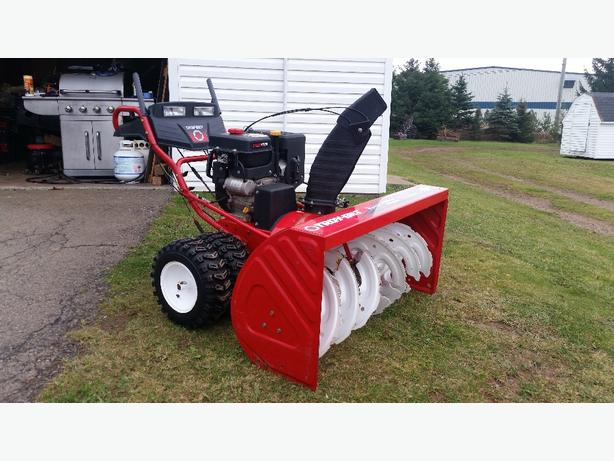 "45"" Troy Built Snow Blower"