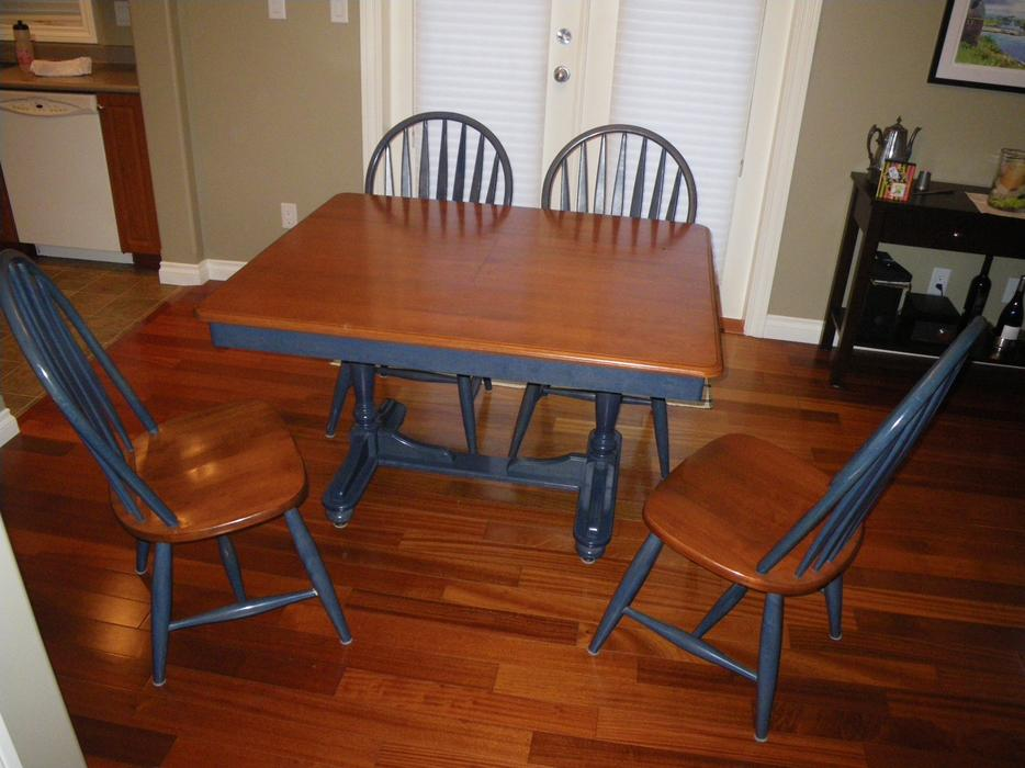 Hardwood Dining Table and Chairs Outside Victoria  : 56243577934 from www.usedvictoria.com size 934 x 700 jpeg 75kB