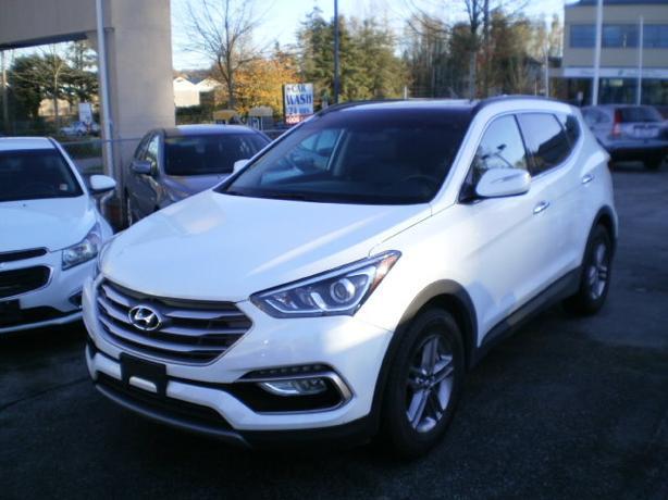 2017 Hyundai Santa FE, Sport, awd, sunroof,