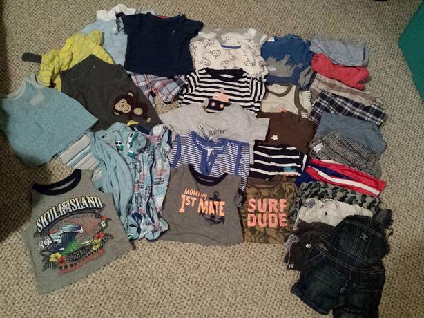 Boys Summer Clothing 6-12 months