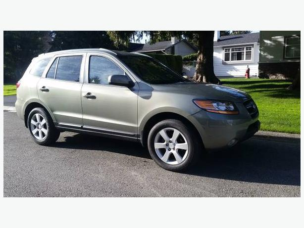 2009 hyundai santa fe limited awd 8800 outside victoria. Black Bedroom Furniture Sets. Home Design Ideas