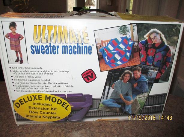 Bond Ultimate Sweater Machine Instructions Sweater Tunic