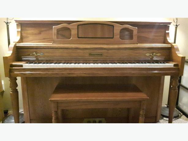 Heintzman Console Piano