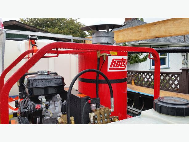 Hotsy hot water power washer For Sale