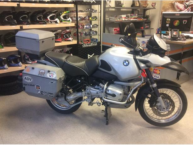 2004 BMW R1150GS ready for touring, tons of accessories