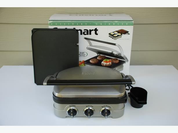 Cuisinart Griddler - Contract Grill, Panini Press, Flat Grill, Griddle