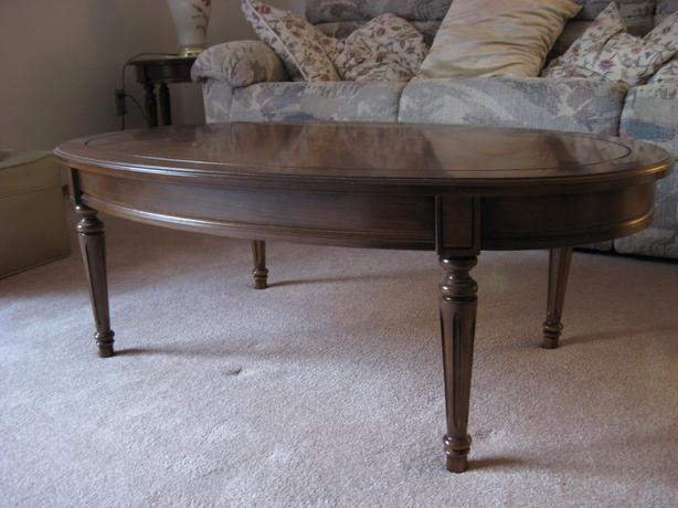 Solid wood coffee table victoria city victoria for High quality coffee tables