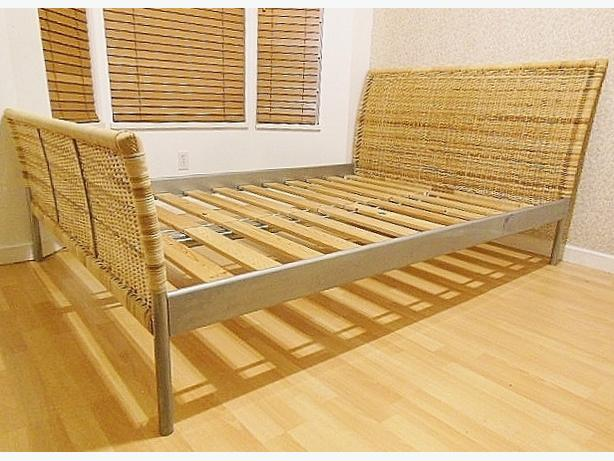 Ikea SUNDNES Bed Frame - Full Double