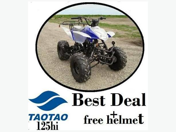 TAOTAO 110cc SPORTY MID SIZE ATV WITH FREE HELMET