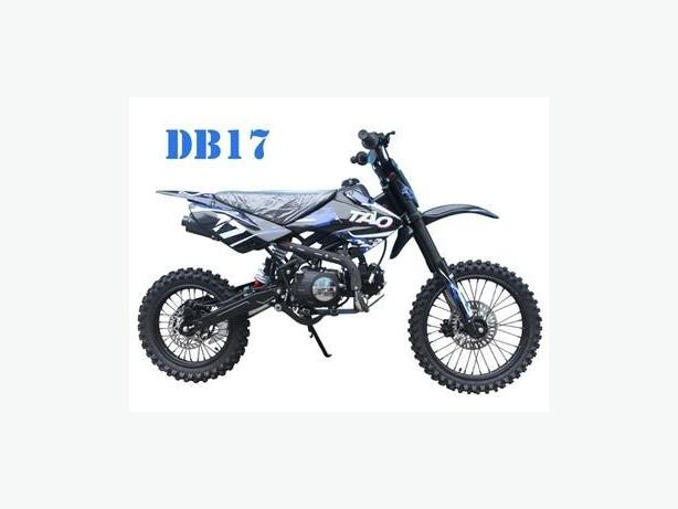 The DB17 125cc Manual Dirt Bike from B.C. SCOOTERS