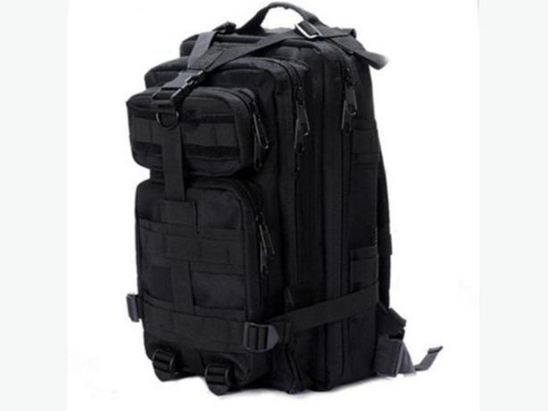 Tactical Military Molle Utility Rucksack Backpack Bag - Black