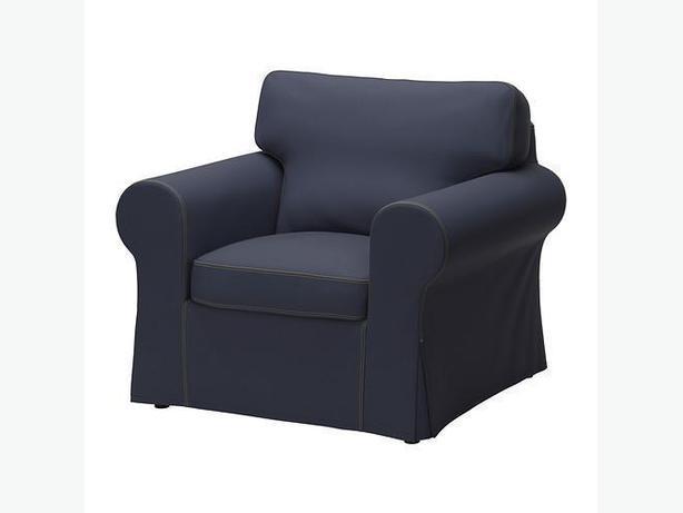 Ikea EKTORP Armchair Cover - Jonsboda Blue (002.545.39)