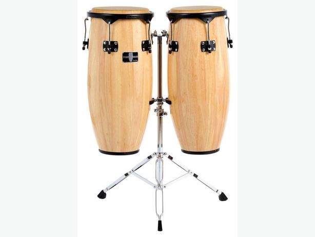 WANTED: (ISO set of Conga Drums [duel w/stand)