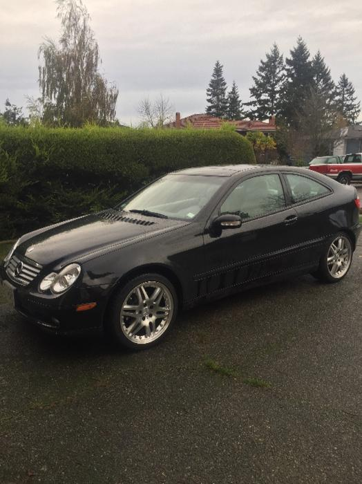 2002 mercedes benz c230 kompressor coupe saanich victoria for 2002 mercedes benz c230 kompressor coupe
