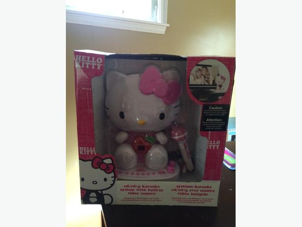 Hello Kitty Karaokee Machine