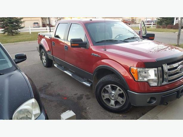 2009 red ford f150 fx4 step side north regina regina. Black Bedroom Furniture Sets. Home Design Ideas