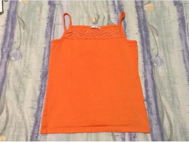 ELLE PLANETE orange top for kids