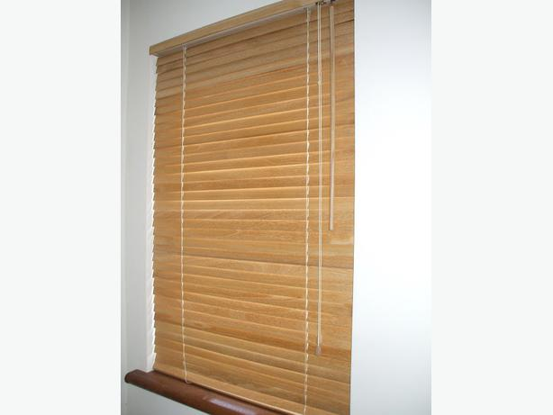 ikea lindmon wooden blinds new 8 available north saanich sidney victoria. Black Bedroom Furniture Sets. Home Design Ideas