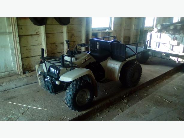 Yamaha ATV $900 or trade for single cyl or small twin snowmobile 902-214-0644