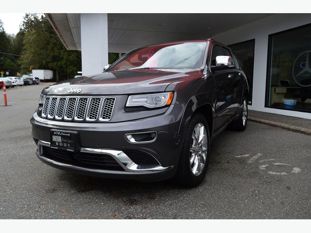 2014 jeep grand cherokee summit top of the line outside victoria victoria. Black Bedroom Furniture Sets. Home Design Ideas