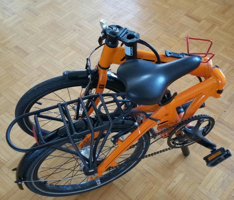 Mec Origami Bicycle Excellent Condition 2 Years Old