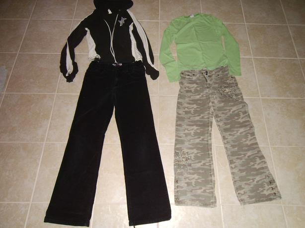 Girls Winter Wardrobe Sizes 8-10-12-14