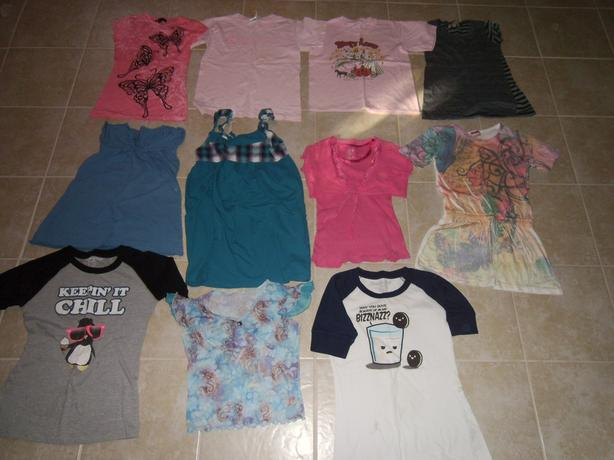 Summer Wardrobe Girls Clothes Sizes 8-10- 12-14