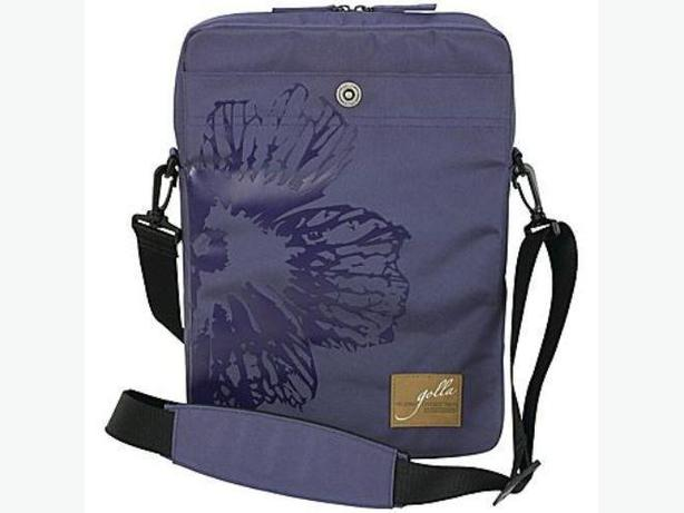 "GOLLA SHARON Laptop Vertical Sling Sleeve Bag 14"" - Purple"