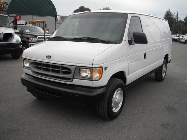 2002 Ford E-350 Super Duty Cargo Van Diesel