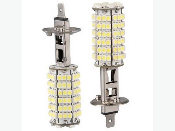 H1 3528 LED HEADLIGHT FOG LIGHT 6000K COOL WHITE