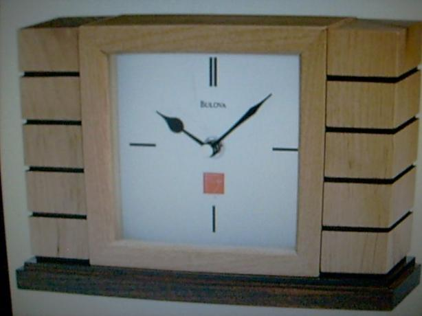 Hot Buy: Bulova Frank Lloyd Wright Usonian II B1659 clock - $80 (Vancouver, BC)