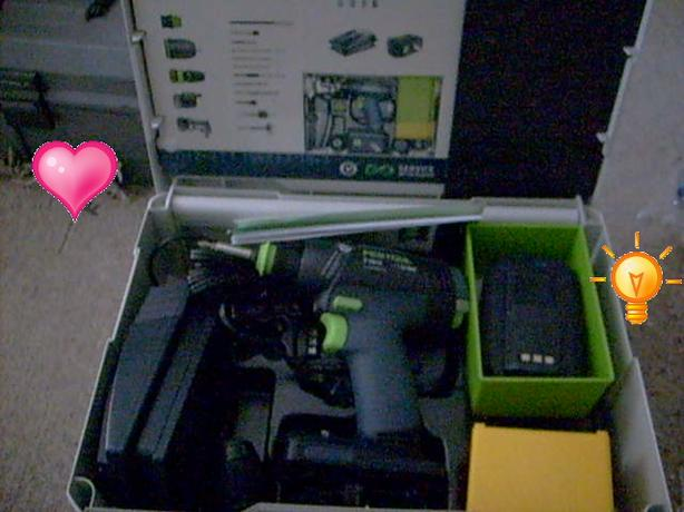 Hot Buy: Festool cordess drill set- $680 (Vancouver, BC)