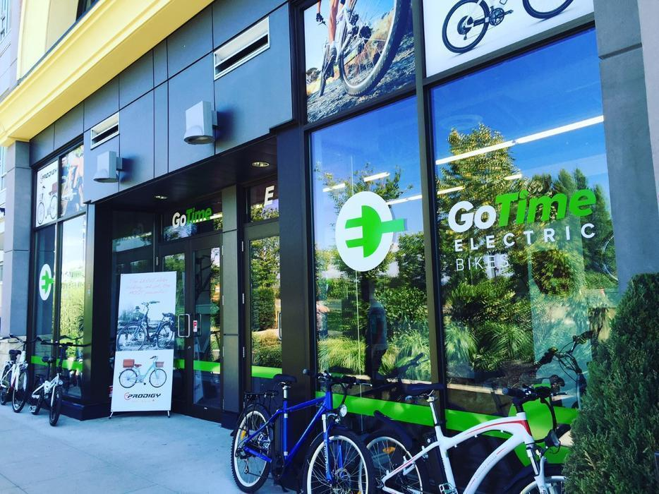 Go electric bikes at uptown mall open 7 day 39 s a week for 7 summerland terrace