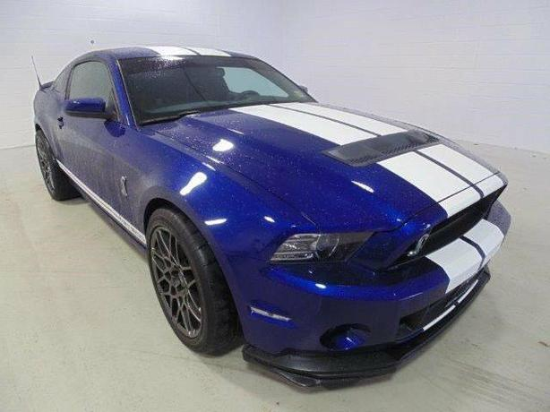 2014 SHELBY GT500!!!!662 HORSEPOWER!!! 32,700KM!!!TRACK PACK!!!