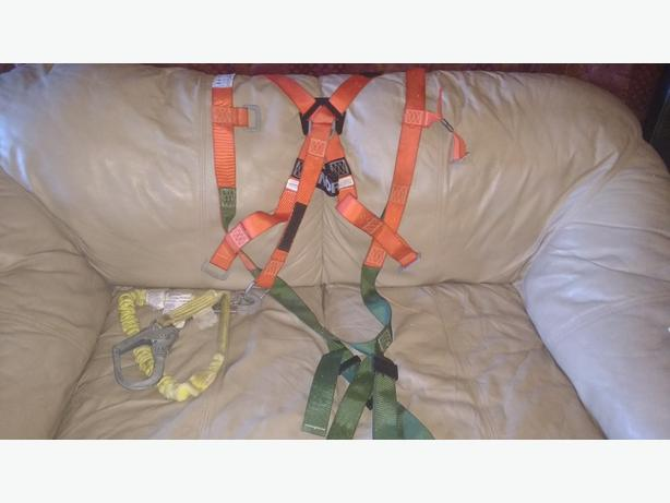 harness and lanyard