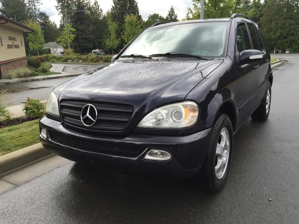 2002 mercedes benz ml 320 awd central nanaimo parksville. Black Bedroom Furniture Sets. Home Design Ideas