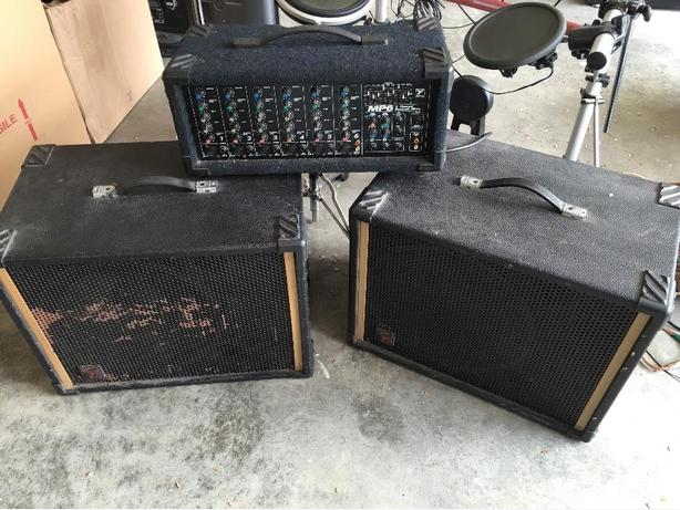 Korg M1 and PA System